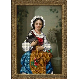 Девушка с кувшином - Краса і Творчість - набор для вышивки бисером