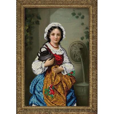 Набор для вышивки бисером - Краса і Творчість - Девушка с кувшином