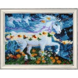 Единорог - Butterfly - набор вышивки бисером