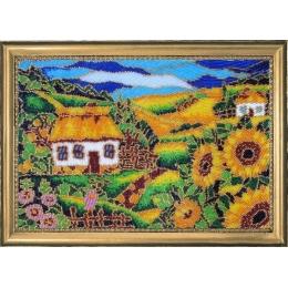 Набор для вышивки бисером - Butterfly - №325 На окраине села