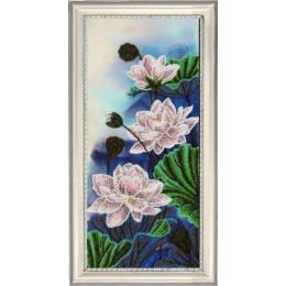 Набор для вышивки бисером - Butterfly - №261 Лотосы