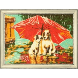 Набор для вышивки бисером - Butterfly - №615 Зонтик на двоих