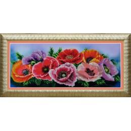 Маковое настроение - Картины бисером - набор для вышивки бисером