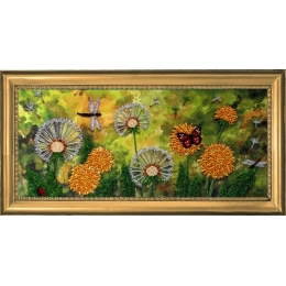 Набор для вышивки бисером - Butterfly - №222 Одуванчики