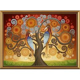 Набор для вышивки бисером - Нова Слобода - ДК1058 Огонь любви