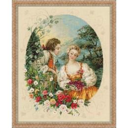 Набор для вышивки крестом - РИОЛИС - 100/047 Пастораль