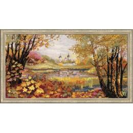 Осенняя пора - РИОЛИС - набор для вышивки крестом