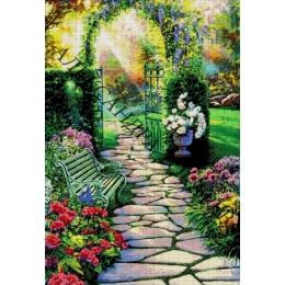 Авторский набор для вышивки бисером - Токарева А. - Райский сад 44-3082-НС