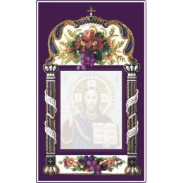 Вышивка бисером икон - Изящное рукоделие - БОЛЬШАЯ РАМКА ДЛЯ ИКОН 11х14 см