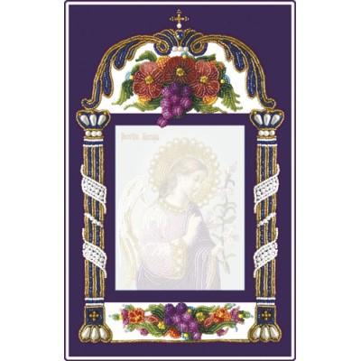 Вышивка бисером икон - Изящное рукоделие - СРЕДНЯЯ РАМКА ДЛЯ ИКОН 11х14 см
