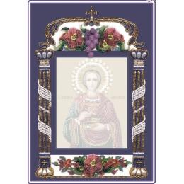 МАЛЕНЬКАЯ РАМКА ДЛЯ ИКОН 11х14 см - Изящное рукоделие - вышивка бисером икон