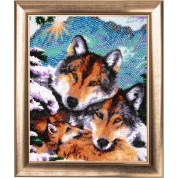 Семейство волков - Butterfly - набор для вышивки бисером