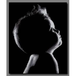 Силуэт ребёнка - Орхидея ТМ - схема для вышивки бисером