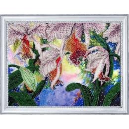 Набор для вышивки бисером - Butterfly - №230 Сияние орхидей