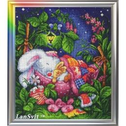 Спи, моя радость - ЛанСвіт - набор вышивки крестом