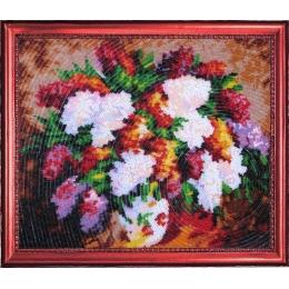 Набор для вышивки бисером - Butterfly - №226 Сиреневый букет (по картине Л. Афремова)
