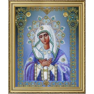 Вышивка бисером икон - Картины бисером - Икона Богородица Умиление Р-250