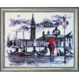 Набор для вышивки бисером - Butterfly - Венеция (по картине О. Дарчук) №476