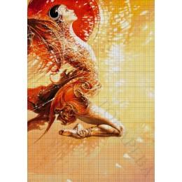 Авторский набор для вышивки бисером - Токарева А. - Изящество (триптих) 41-2990-НИ