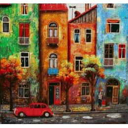 Авторский набор для вышивки бисером - Токарева А. - Краски летнего дождя 50-2860-НК