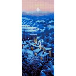 Авторский набор для вышивки бисером - Токарева А. - Ночной город 36-3108-НН