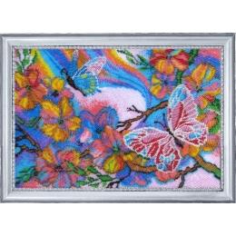 Набор для вышивки бисером - Butterfly - №116 Сказочные бабочки