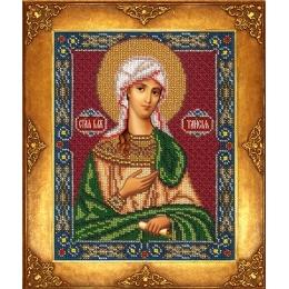 Икона Св. Таисия - Русская искусница - вышивка бисером икон