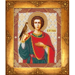 Икона Св. Трифон - Русская искусница - вышивка бисером икон