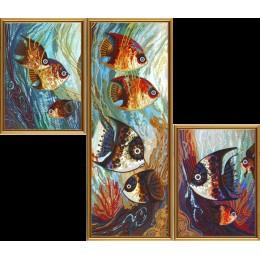 Набор для вышивки бисером - Нова Слобода - ДК6575 Морское царство