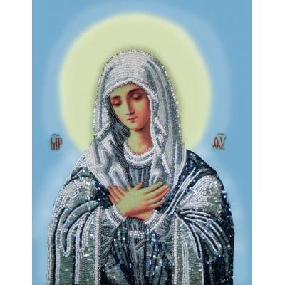 Икона Богородица Умиление - Изящное рукоделие - вышивка бисером икон