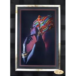 Африканка - Тэла Артис - набор вышивки бисером