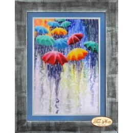 Веселые зонтики - Тэла Артис - набор вышивки бисером