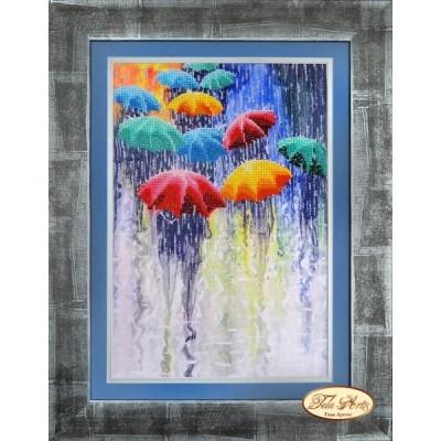 Набор для вышивки бисером - Тэла Артис - НГ-220 Веселые зонтики