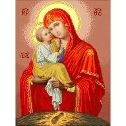Богородица Почаевская - БС Солес - вышивка бисером икон