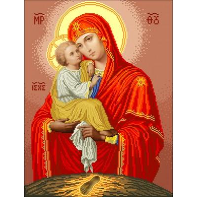 Набор для вышивки бисером икон - БС Солес - Богородица Почаевская