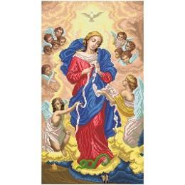 Икона Богородица Развязывающая узлы - БС Солес - вышивка бисером икон