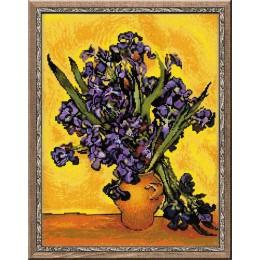 """Ван Гог """"Ирисы"""" - РИОЛИС - набор для вышивки крестом"""