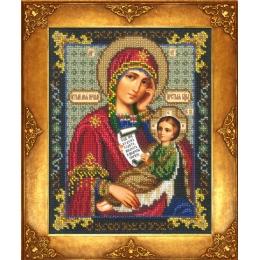 Вышивка бисером икон - Русская искусница - №370 Икона Богородица Утоли моя печали