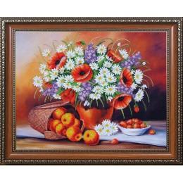 Фруктово-цветочный пунш - Магия канвы - набор для вышивки бисером