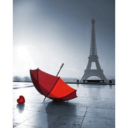 Парижский шарм - А-строчка - схема вышивки бисером