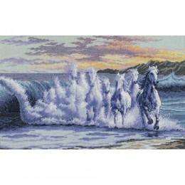 Бегущие по волнам - Classic Design - набор для вышивки крестом