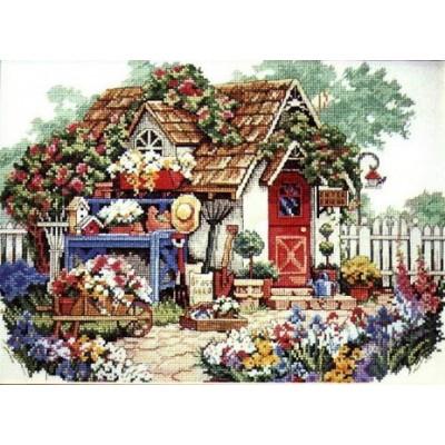 Набор для вышивки крестом - Classic Design - 4322 Садовый домик