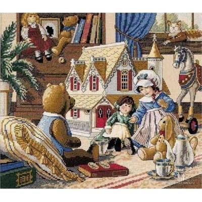 Набор для вышивки крестом - Classic Design - 4323 Кукольный домик