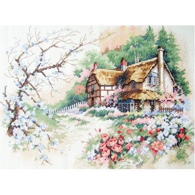 Набор для вышивки крестом - Classic Design - 4324 Уютный дом