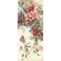 Цветы и бабочки - Classic Design - набор для вышивки крестом