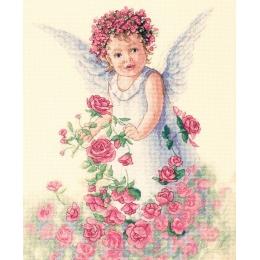 Ангел роз - Classic Design - набор вышивки крестом