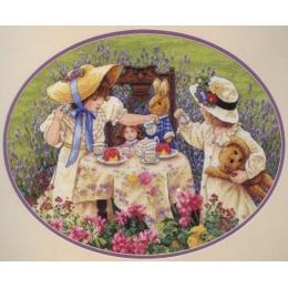 Набор для вышивки крестом - Classic Design - 4330 Чаепитие