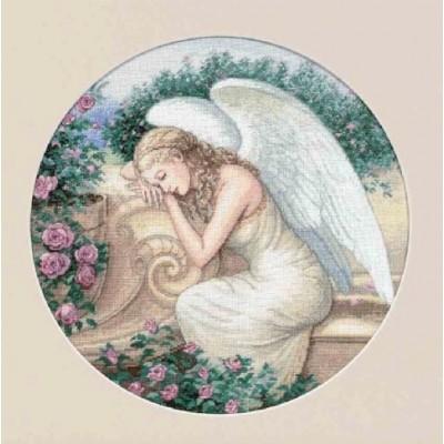 Набор для вышивки крестом - Classic Design - 4334 Садовый ангел