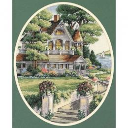 Викторианский дом - Classic Design - набор для вышивки крестом