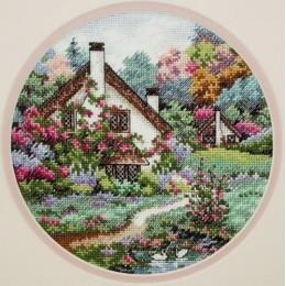 Домик в саду - Classic Design - набор для вышивки крестом